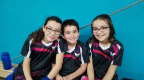 Championnat des Jeunes : Lena, Juliette et Marina