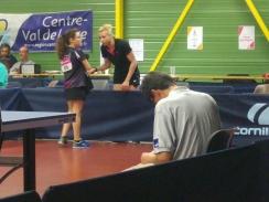 Au coaching sur Arina ROUSSELLE