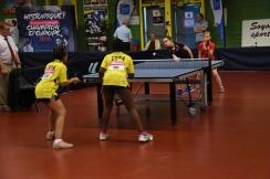 16ème de finale du double sur Lorenza et Soryana