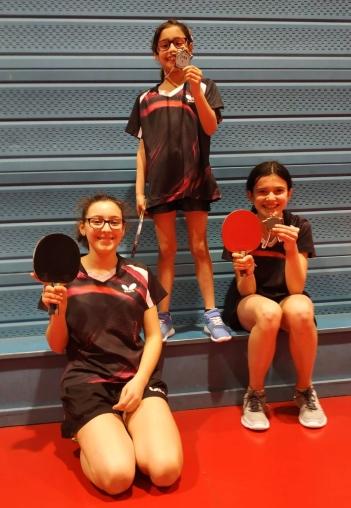 Estelle, Clara et Solenn, de beaux sourires pour de bons résultats